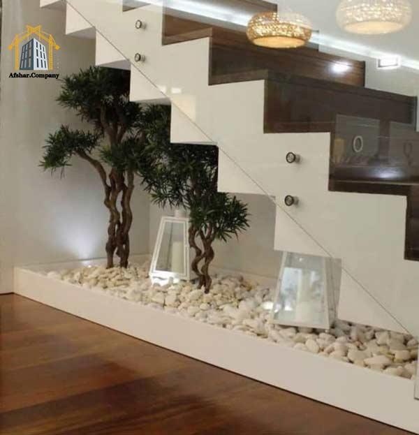 قلوه سنگ رودخانه ای برای تزئینات و معماری داخل ساختمان